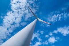 Windmill on the field Stock Photos