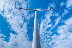 Windmill on the field Stock Photo