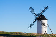 Windmill in field Royalty Free Stock Image