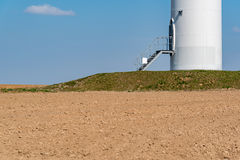 Windmill on the field Stock Photography