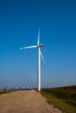 Windmill on field Royalty Free Stock Photo