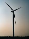 Windmill on field Royalty Free Stock Photos