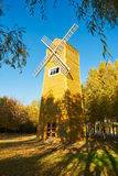 The windmill in the forest Royalty Free Stock Image