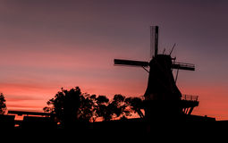 Windmill of Foxton Stock Photography