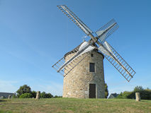 Windmill in France Royalty Free Stock Photo