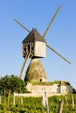 Windmill  in France Royalty Free Stock Photos