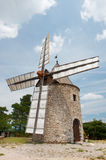 Windmill in France Stock Photos