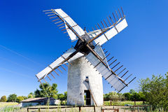 Windmill, France Royalty Free Stock Photos