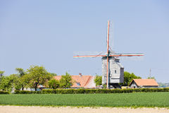 Windmill, France Stock Photos