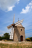 Windmill in France Stock Photo