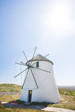 Windmill from the front Royalty Free Stock Photo