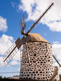 Windmill, Fuerteventura,  Canary Islands Stock Photography