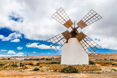 Windmill - Fuerteventura, Canary Islands, Spain Royalty Free Stock Image