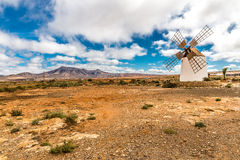 Windmill - Fuerteventura, Canary Islands, Spain Stock Images