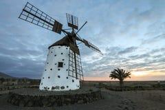 Windmill on Fuerteventura Royalty Free Stock Photography