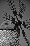 Windmill of Fuerteventura island Royalty Free Stock Photo