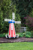 Windmill Garden Decoration Stock Image