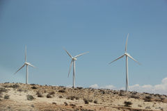 Windmill Generating Electricity Royalty Free Stock Photography