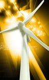 Windmill generator power plant Stock Photography