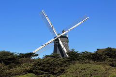 Windmill in Golden Gate Park Stock Image