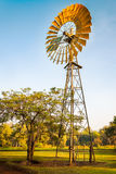 Windmill in the golden morning light Royalty Free Stock Image