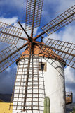 Windmill on Gran Canaria Royalty Free Stock Photos