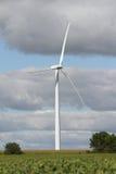 Windmill green energy Stock Photos