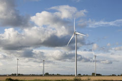 Windmill green energy royalty free stock images