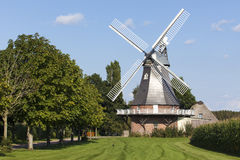 Windmill at Grefenmoor, Lower Saxony Stock Image