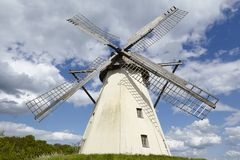 Windmill Grossenheerse (Petershagen) Royalty Free Stock Images