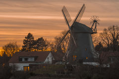 Windmill in Hannover Stock Images