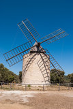Windmill of happiness, Island of Porquerolles stock image