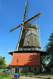 Windmill in Harderwijk Stock Images