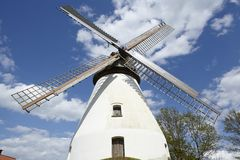 Windmill Heimsen (Petershagen, Germany) Stock Image