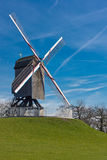 Windmill on hill Stock Photography