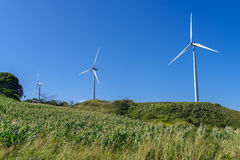 Windmill on the hill Royalty Free Stock Images