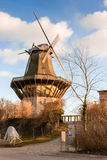 Windmill. The historical windmill at the Sanssouci palace in Potsdam near Berlin Stock Image