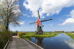 Windmill in Holland. Stock Images