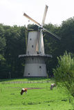 Windmill in Holland. Old windmill in Holland near Amsterdam Stock Images