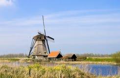 Windmill Holland Royalty Free Stock Photos