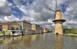 Windmill in Holland Royalty Free Stock Photography