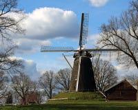 Windmill. In holland, beautifull land Royalty Free Stock Photos