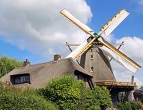 Windmill. In Holland, beautifull summer Royalty Free Stock Photo