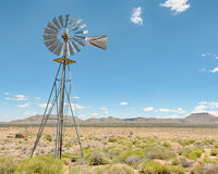 Windmill, Holliman Well, Mojave National Preserve, California. Royalty Free Stock Photography