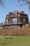 Windmill house Stock Image