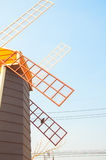 Windmill house Royalty Free Stock Image