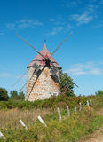 Windmill, ile-aux-coudres, quebec Stock Image