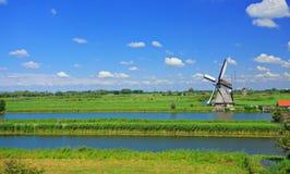 Free Windmill In Kinderdijk Stock Photo - 6378730