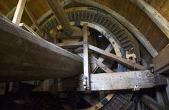 Windmill Interior Royalty Free Stock Image