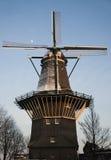 Windmill inv Amsterdam Royalty Free Stock Image